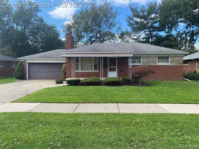 23741 Johnston Avenue, Eastpointe, MI 48021 (#2210087376) :: GK Real Estate Team