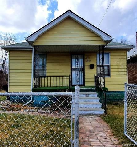 13945 Goddard Street, Detroit, MI 48212 (#2210087392) :: Real Estate For A CAUSE