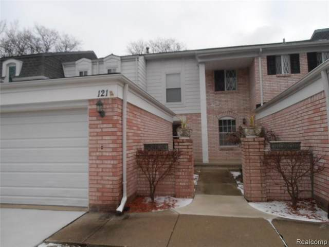 121 Canterbury Trail, Rochester Hills, MI 48309 (#2210087716) :: Real Estate For A CAUSE