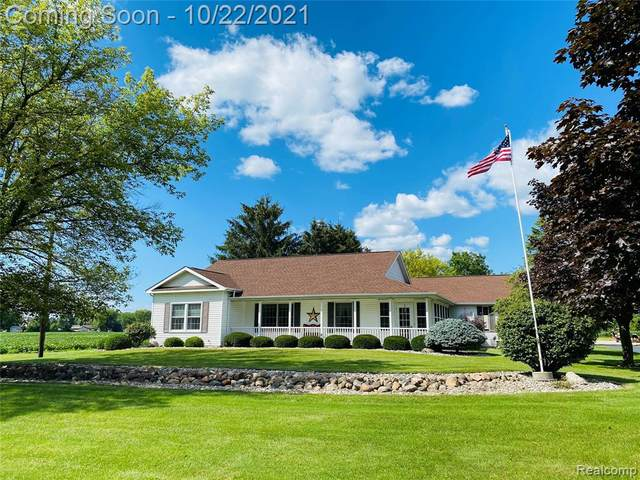 9800 Frost Road, Thomas Twp, MI 48609 (#2210087865) :: National Realty Centers, Inc