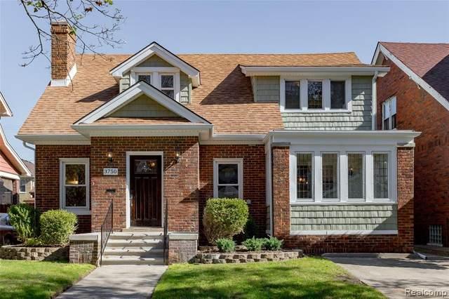 3750 Seminole Street, Detroit, MI 48214 (#2210087982) :: Real Estate For A CAUSE