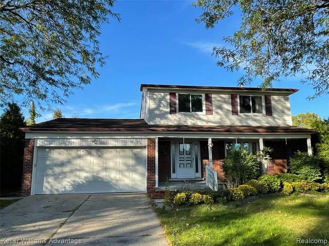 3115 Hedge Drive, Sterling Heights, MI 48310 (#2210088287) :: The Alex Nugent Team | Real Estate One