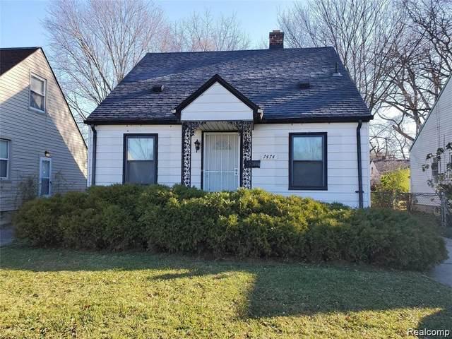 7474 Bramell, Detroit, MI 48239 (#2210088742) :: The Alex Nugent Team | Real Estate One