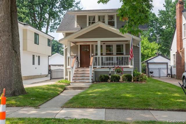719 Forest Avenue, Royal Oak, MI 48067 (#2210088801) :: Real Estate For A CAUSE