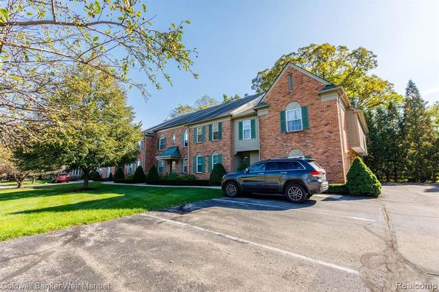 1655 Huntington Park Apt F, Rochester Hills, MI 48309 (#2210088877) :: RE/MAX Nexus