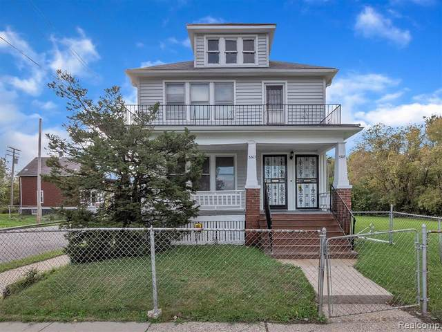 5303 Hurlbut Street, Detroit, MI 48213 (#2210089081) :: Real Estate For A CAUSE