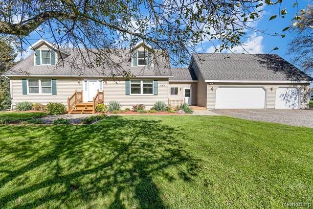 4168 W Coon Lake Road, Marion Twp, MI 48843 (#2210089098) :: Duneske Real Estate Advisors