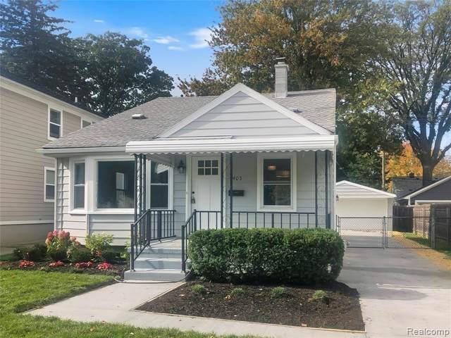405 N Gainsborough Avenue, Royal Oak, MI 48067 (#2210089161) :: Real Estate For A CAUSE