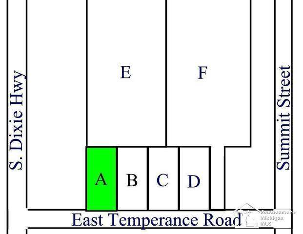 Parcel A E Temperance Road, Erie Twp, MI 48133 (#57050058833) :: The BK Agency