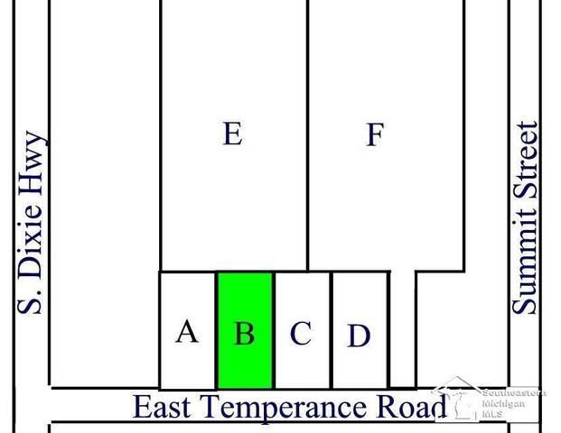 Parcel B E Temperance Road, Erie Twp, MI 48133 (#57050058835) :: The BK Agency