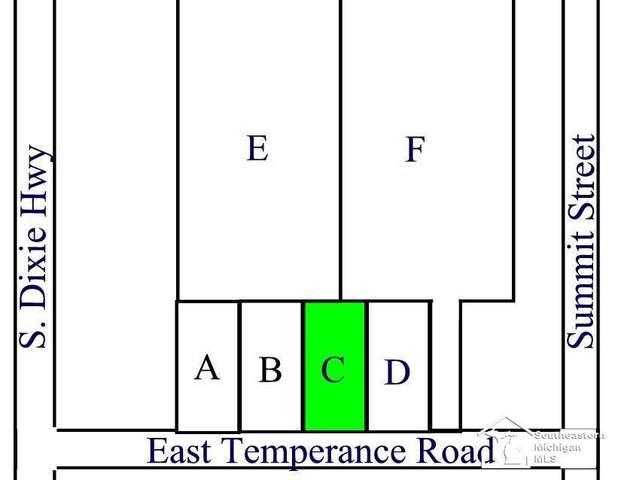Parcel C E Temperance Road, Erie Twp, MI 48133 (#57050058836) :: The BK Agency