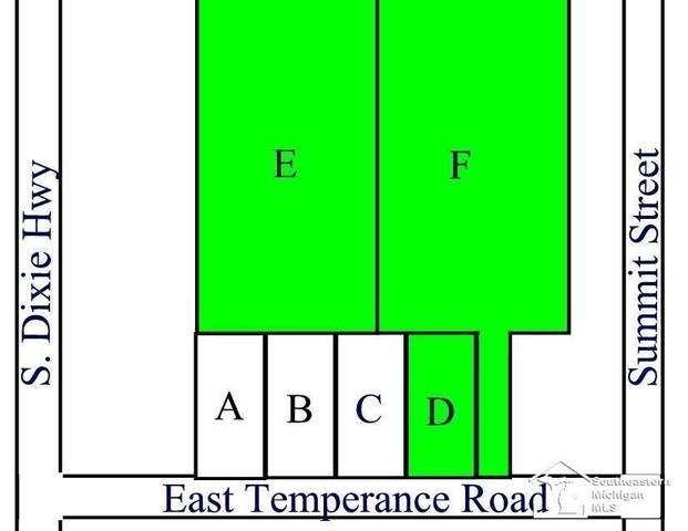 Parcels D E & F E Temperance Road, Erie Twp, MI 48133 (#57050058839) :: The BK Agency