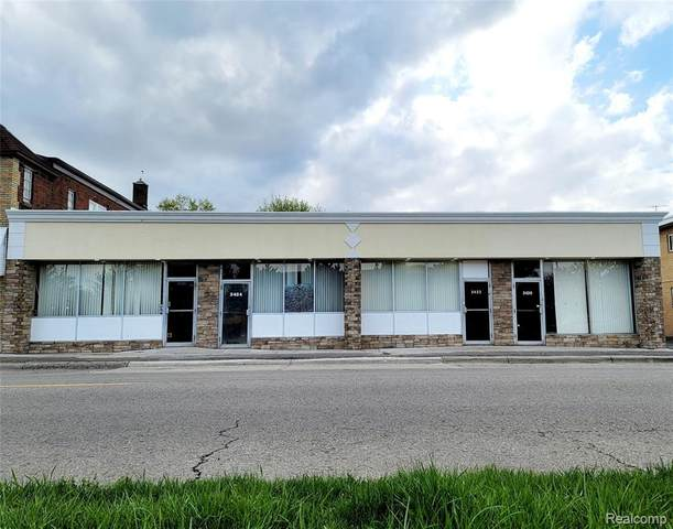 2420 Fort Park Blvd, Lincoln Park, MI 48146 (#2210089418) :: Real Estate For A CAUSE