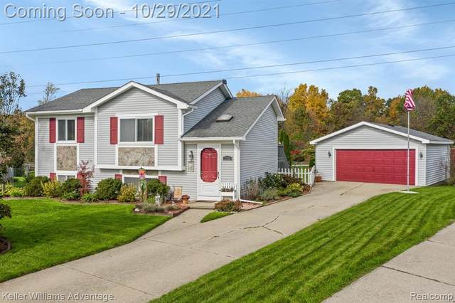 2366 Wenona Drive, Wixom, MI 48393 (#2210089539) :: National Realty Centers, Inc
