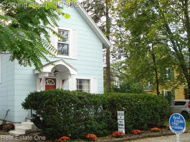 615 N Adams Street, Ypsilanti, MI 48197 (#2210089576) :: National Realty Centers, Inc