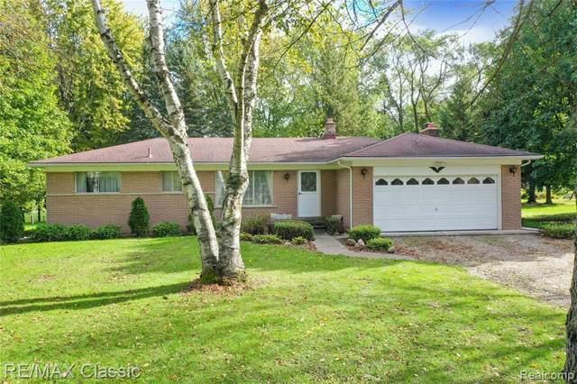 28340 N Dixboro Road, Lyon Twp, MI 48178 (#2210090252) :: National Realty Centers, Inc