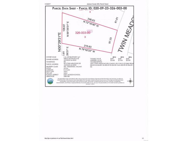 3010 Twin Meadows, Leoni, MI 49201 (#543245935) :: The Buckley Jolley Real Estate Team