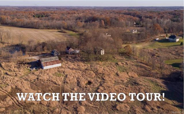 9745 Scully Road, Webster Twp, MI 48189 (#543253126) :: The Buckley Jolley Real Estate Team