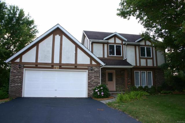 4181 Sunset Court, Scio Twp, MI 48103 (MLS #543253170) :: The Toth Team