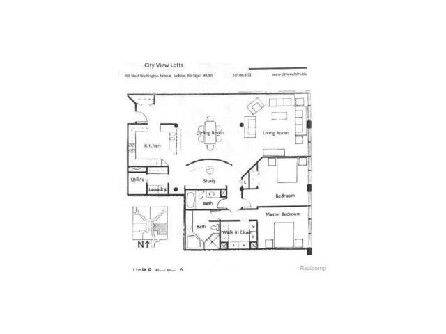 109 W Washington Ave Unit 8, CITY OF JACKSON, MI 49201 (#55020021683) :: Duneske Real Estate Advisors