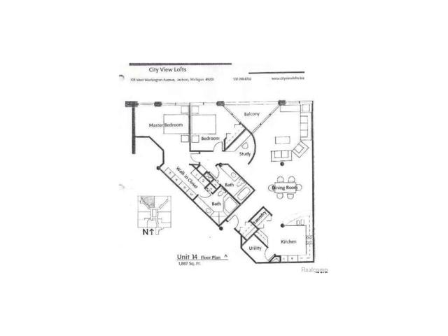 109 W Washington Ave Unit 14, CITY OF JACKSON, MI 49201 (#55020021686) :: Duneske Real Estate Advisors