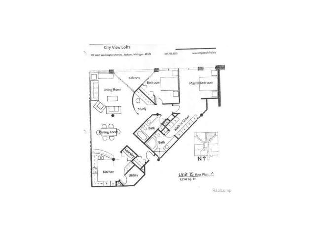 109 W Washington Ave Unit 15, CITY OF JACKSON, MI 49201 (#55020021687) :: Duneske Real Estate Advisors
