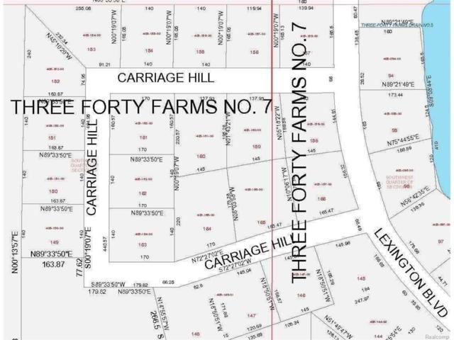 152 Carriage Hill, Summit, MI 49203 (MLS #55020024505) :: The Toth Team