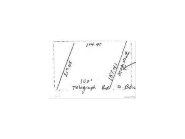 0 Telegraph Rd, Lasalle, MI 48145 (#57003443150) :: RE/MAX Nexus
