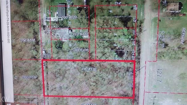 0 Cleveland Lot 6, Port Huron Twp, MI 48060 (MLS #58031334537) :: The Toth Team