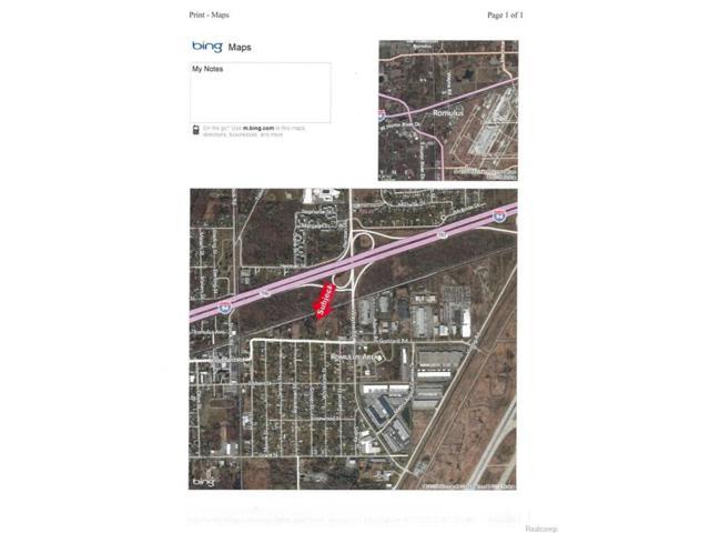 0000 Goddard Road, Romulus, MI 48174 (#215100762) :: The Buckley Jolley Real Estate Team