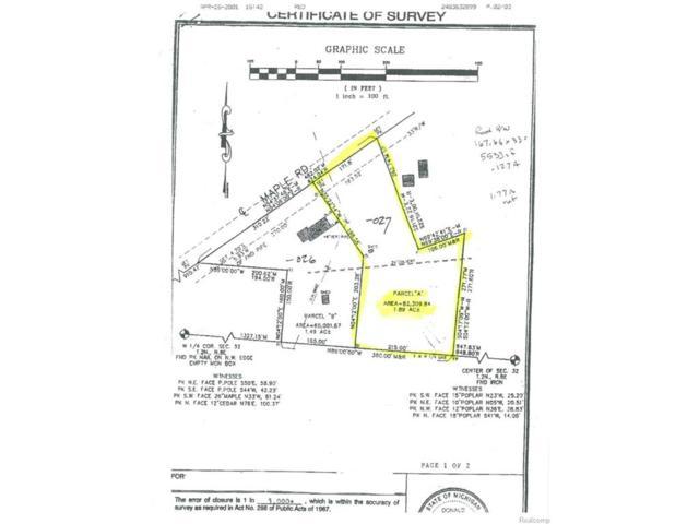 3027 W Maple Road, Wixom, MI 48393 (#216004691) :: Duneske Real Estate Advisors