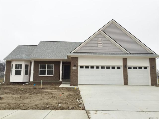 782 Golf Ridge Drive, Dundee Vlg, MI 48131 (MLS #217027616) :: The Toth Team