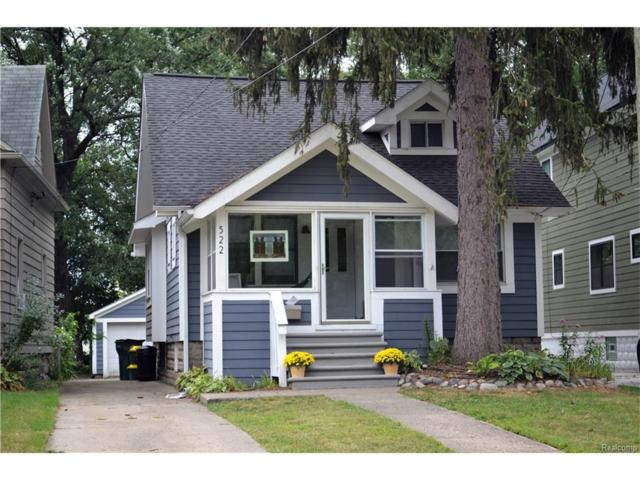 522 E Hudson Avenue, Royal Oak, MI 48067 (#217074505) :: RE/MAX Vision