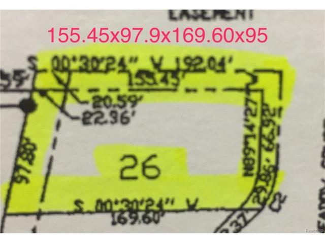 4250 Meadow Court, Port Huron, MI 48060 (MLS #217089967) :: The Toth Team