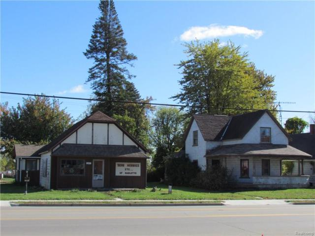 3441 Main Street, Marlette, MI 48453 (#217093381) :: Duneske Real Estate Advisors
