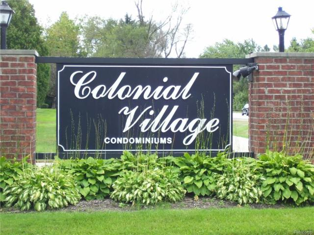 1816 Colonial Village Way #4, Waterford Twp, MI 48328 (#217100397) :: RE/MAX Classic