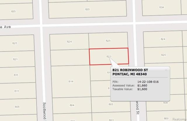 821 Robinwood Street, Pontiac, MI 48340 (#217102129) :: Duneske Real Estate Advisors