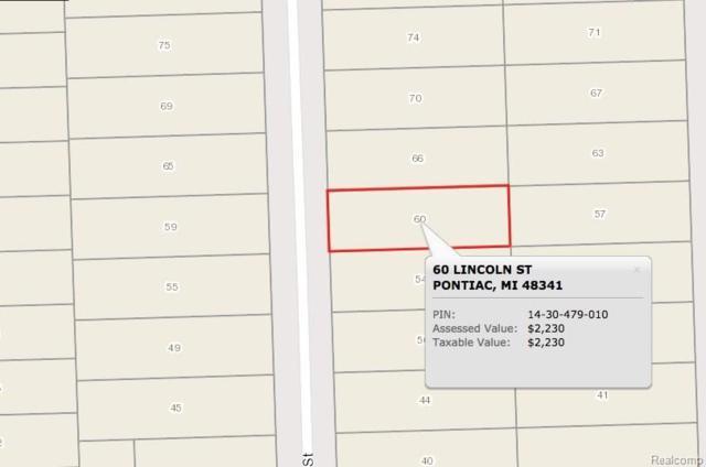 60 Lincoln Street, Pontiac, MI 48341 (#217102137) :: RE/MAX Classic