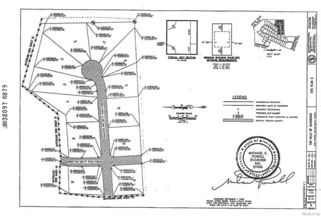 Lot 40 Samantha Way, Rose Twp, MI 48350 (#217102956) :: RE/MAX Classic