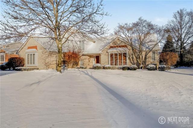 3448 Wedgewood Drive, Rochester Hills, MI 48306 (#217109013) :: Simon Thomas Homes