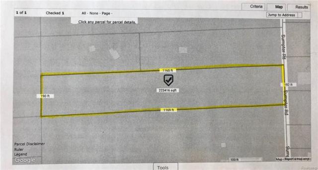 0 Sumpter Road, Sumpter Twp, MI 48111 (#218006306) :: RE/MAX Classic