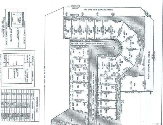 LOT  178 Academy Lot 178, Holly Twp, MI 48442 (MLS #218009677) :: The Toth Team