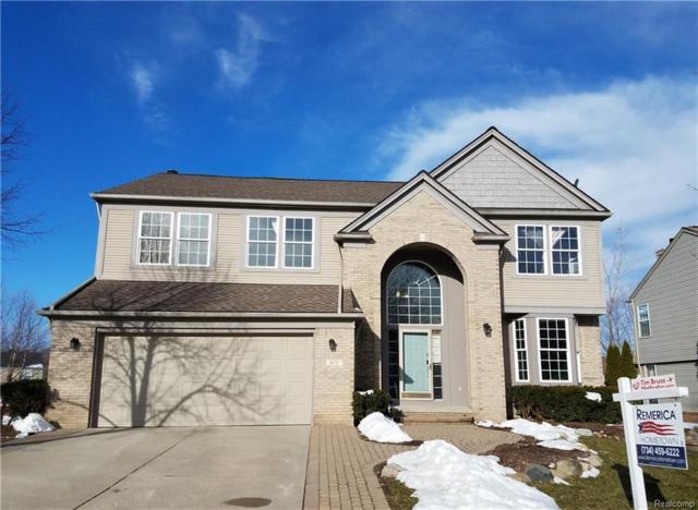 875 Huntington Drive, South Lyon, MI 48178 (#218020563) :: Duneske Real Estate Advisors