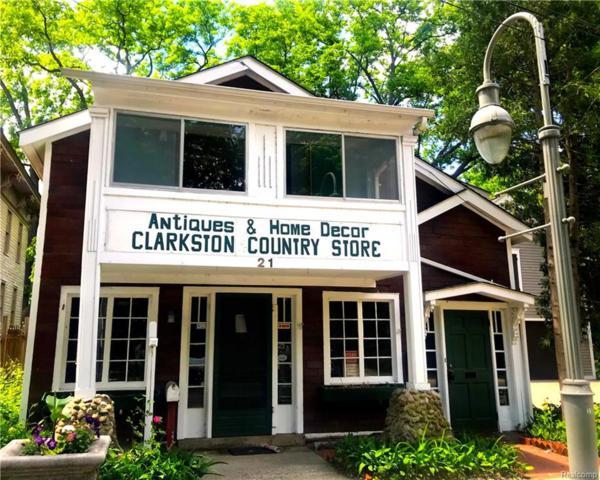 21 N Main Street, City Of The Vlg Of Clarkston, MI 48346 (#218021052) :: Keller Williams West Bloomfield
