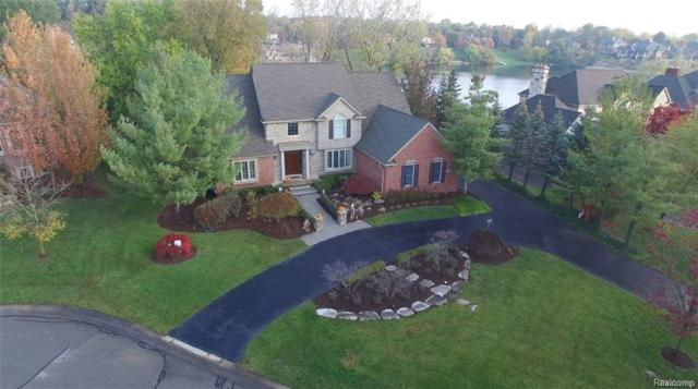 18551 Fox Hollow Crt, Northville Twp, MI 48168 (#218021771) :: Duneske Real Estate Advisors