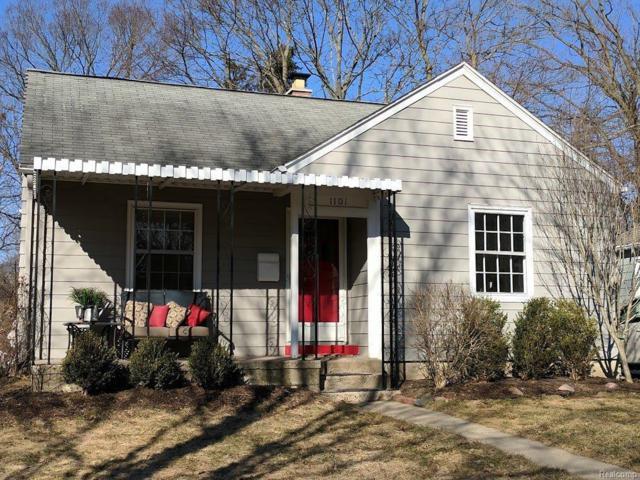 1101 Miner Street, Ann Arbor, MI 48103 (#543255074) :: The Buckley Jolley Real Estate Team