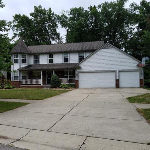 2107 Deer Run Trail, Waterford Twp, MI 48329 (#218022783) :: RE/MAX Classic