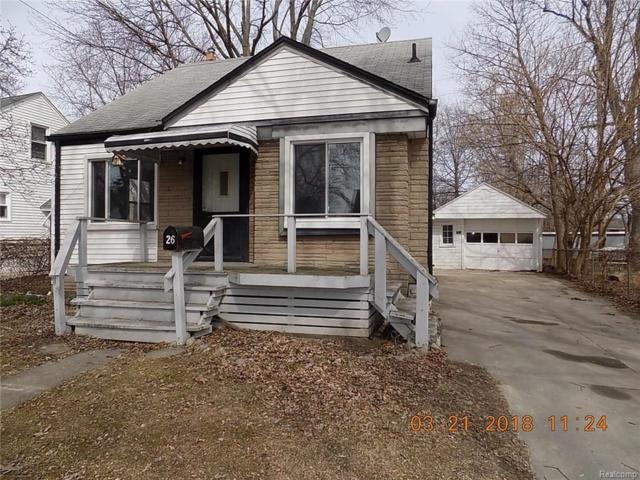 26 Canfield Drive, Mount Clemens, MI 48043 (#218023454) :: Duneske Real Estate Advisors