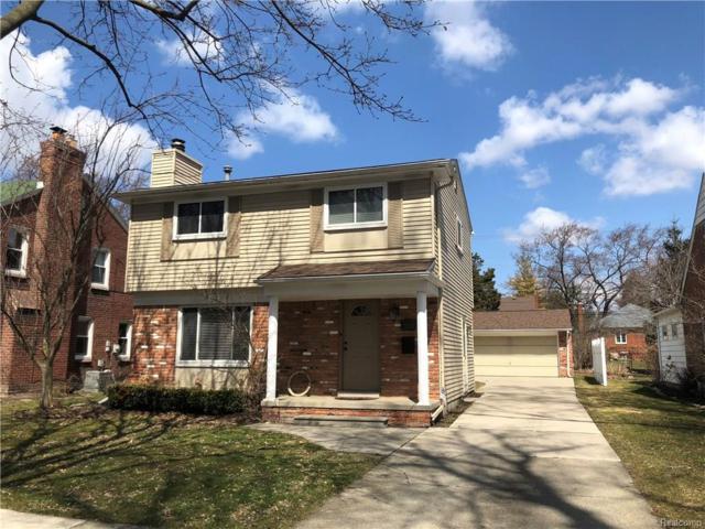 10474 Talbot Avenue, Huntington Woods, MI 48070 (#218029348) :: Duneske Real Estate Advisors