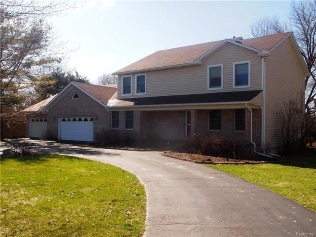 474 Milford Meadows Drive, Milford Twp, MI 48381 (#218032077) :: The Mulvihill Group